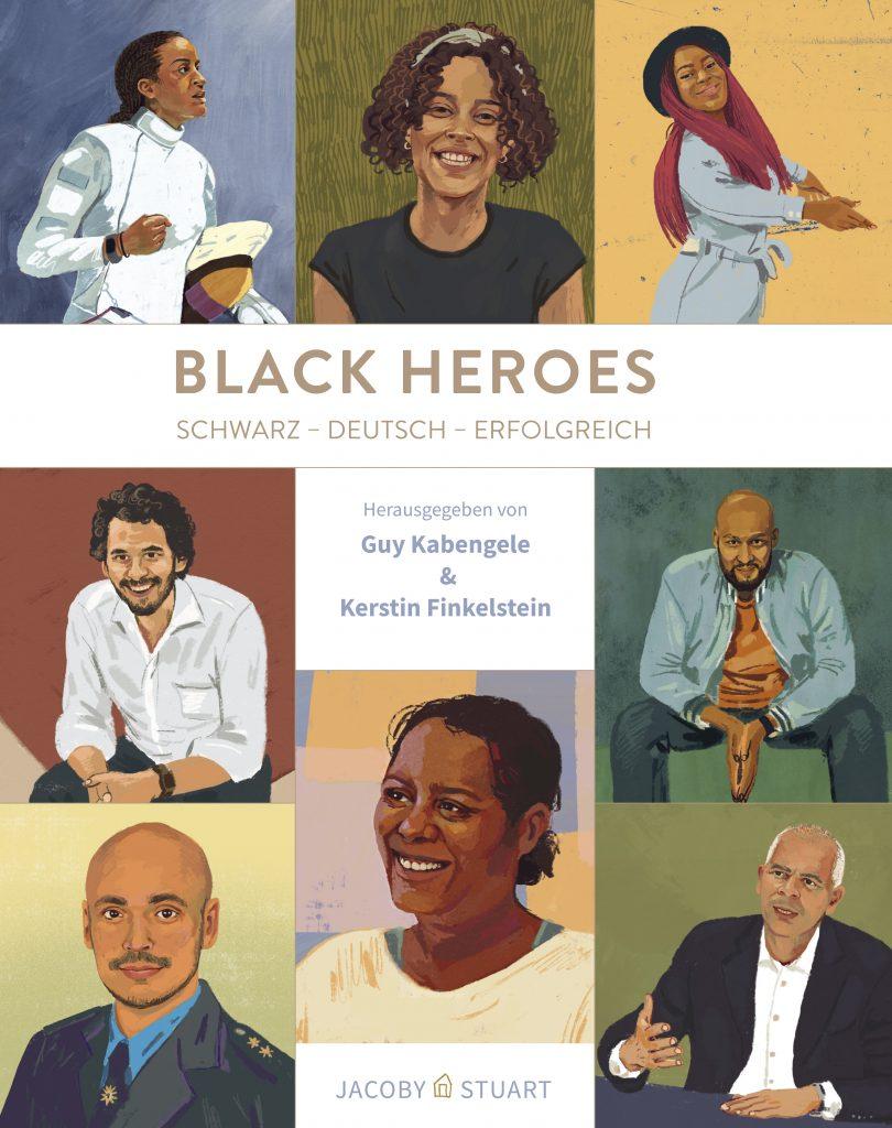 Black heroes von Guy Kabengele und Kerstin Finkelstein